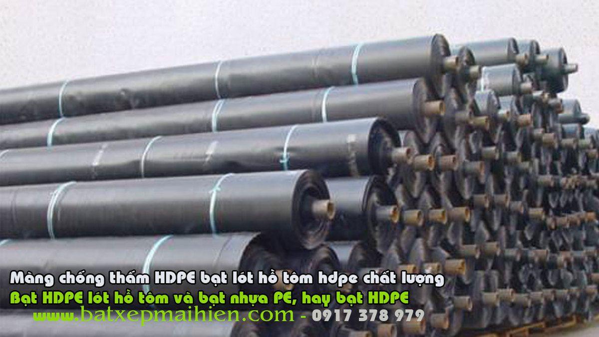 Bạt HDPE Lót Hồ Nuôi TÔm, Lót Ao Nuôi Cá THủy Sản tại Phan THiết Bình Thuận, Bạt Lót Hồ Nuôi Tôm Cá   Bạt Nhựa HDPE