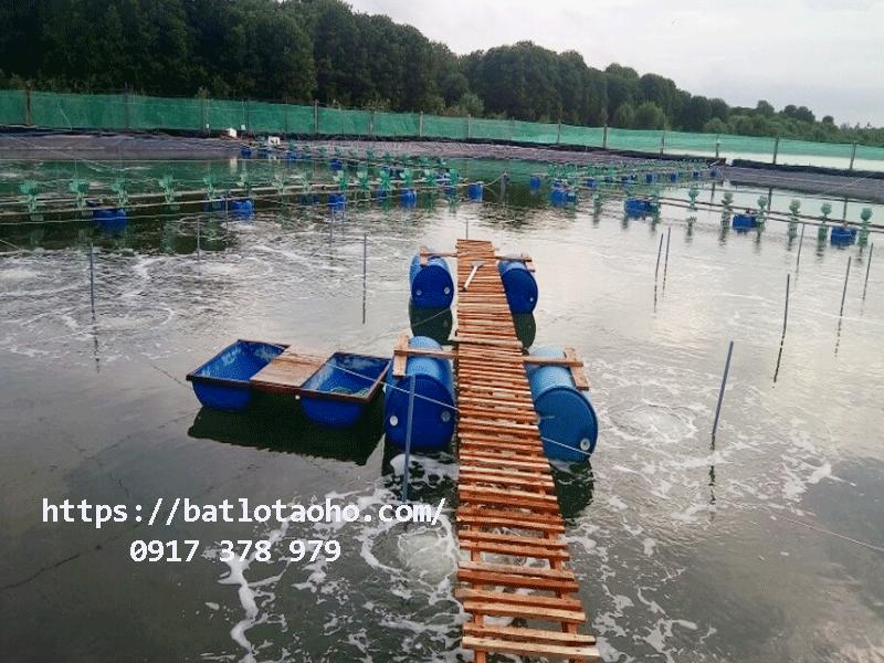 Bạt Lót Hồ Nuôi Tôm Bến Tre, Màng Chống Thấm Lót Hồ Cá Bến Tre HDPE Giá Rẻ