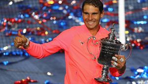 US Open - NYC - Rafa pose avec.............