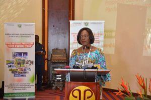 Cérémonie de dissémination et de vulgarisation du PND et de l'étude nationale prospective Côte d'ivoire 2040 : l'allocution de la ministre Kaba Nialé