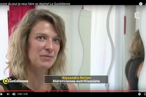 Intervention sur France 5 : Dossier du jour : Les régimes