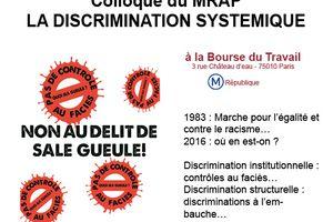 Colloque sur la discrimination systèmique