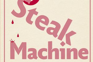 Steak machine, de Geoffrey Le Guilcher, aux éditions Goutte d'or