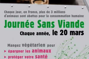 20 mars, journée internationale sans viande, eat vegan for a day