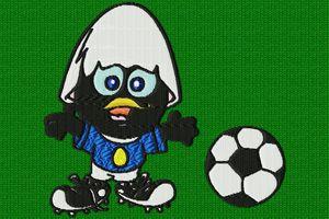 caliméro et le foot