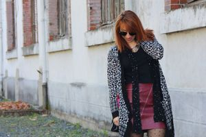 Tricot Vibes & Burgundy style !