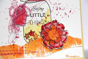 "Carte ""Jar & Fleur"""