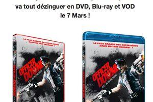 OFFICER DOWNE, le plus badass des super-héros,va tout dézinguer en DVD, Blu-ray et VOD !