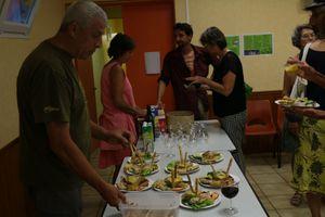 CR soirée du vendredi 16 juin à St Vincent d'Olargues