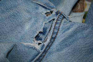 Raccommoder un jean