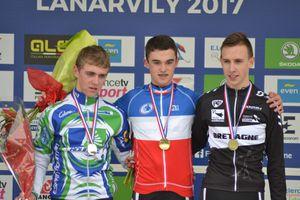Antoine Huby champion de France cadets