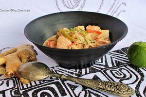 Curry de Poisson au Lait de Coco et aux Epices, Saveur Thaïe