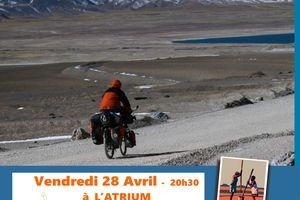 LA ROUTE DES NUAGES projection Voyage à Vélo - 28 avril - 20h30