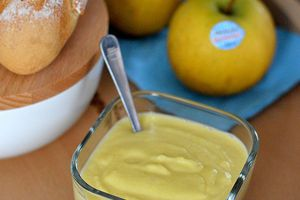Apple Curd au Gingembre