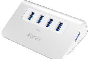 Test du Hub 4 ports USB 3.0 de Aukey