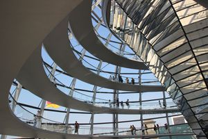 BERLIN - COUPOLE DU REICHSTAG