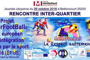 SPORT DAYS EFUS - ROLLERFOOTBALL©             LE RESPECT AUTREMENT