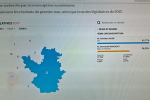 ELECTIONS LEGISLATIVES 2017 - 4ème circonscription de Seine-et-Marne