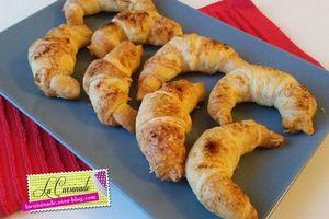 Mini Croissant au Fromage et Paprika