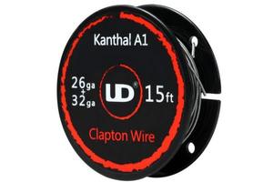 Test - Accessoires - Fil résistif Clapton Wire Kanthal A1 de chez UD