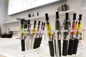 Recul de 6 % du nombre de boutiques spécialisées de cigarettes électroniques