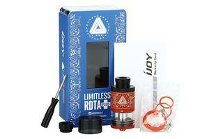 Test - Reconstructible - Limitless RDTA Plus de chez Ijoy
