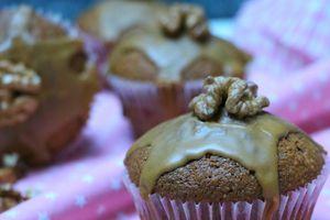 | Cupcakes aux noix et café |