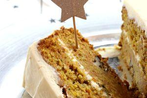 | Carrot Cake à l'américaine | Gâteau aux carottes