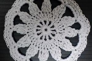 Défi crochet chez Dane # 28 : petits modules