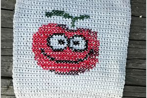 serial crocheteuse & more n° 390 : une tomate