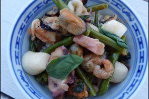 Curry de fruits de mer panang