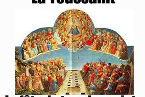 Mt 5 1 12a Toussaint - Le porche d'entrée de la vraie vie, le Christ Jésus