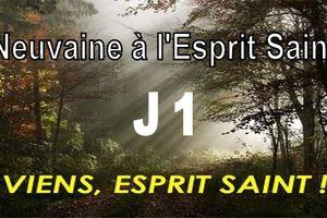 Neuvaine à l'Esprit Saint - jour 1