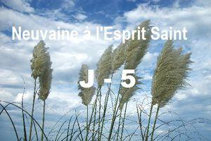 Neuvaine à l'Esprit Saint - Jour 5