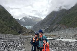 Fox Glacier ~ Gillespies Beach ~ Lake Matheson ~ Randonnée en Nouvelle Zélande