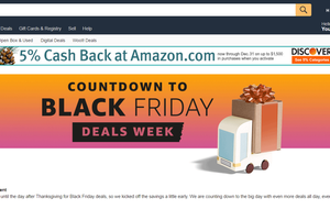 Amazon à tué la date officielle du Black Friday en lançant dès aujourd'hui ses offres Black Friday Deals