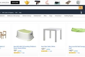 Ikea sur Amazon? Bah...c'est pas nouveau.