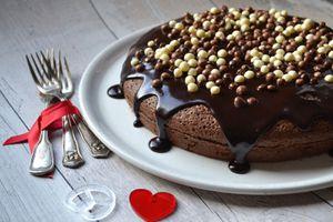 Gâteau tout chocolat express