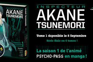 Psycho-Pass - Inspecteur Akane Tsunemori chez Kana