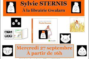 Rencontre avec Sylvie Sternis