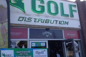 Nouveau Partenaire du CDGOLF 06 : Le magasin GOLF DISTRIBUTION à Antibes