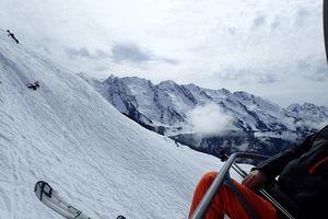 Snowboard au Grand Bornand