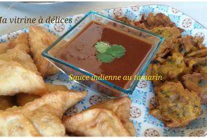 Sauce indienne au tamarin