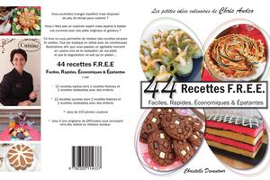 Mon premier livre de recettes est désormais disponible à la vente !!!