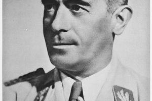 Portrait of Reichssportfuehrer Staatssekretaer Hans von Tschammer und Osten