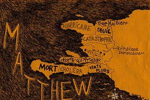 Hurricane Matthew, un poing à la face d'Haïti.