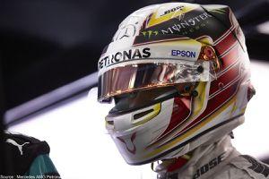 Lewis Hamilton en appelle à ses fans pour redessiner son casque