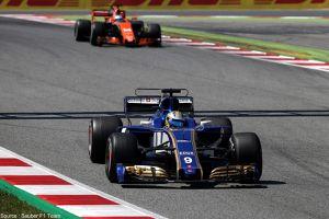 Sauber arrive avec un nouveau fond plat à Monaco