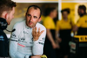 Renault réalise un essai avec Sergey Sirotkin et Robert Kubica