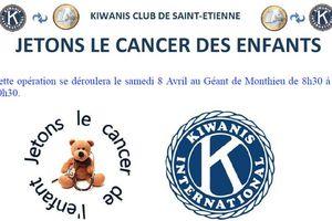 Opération jetons le cancer des enfants